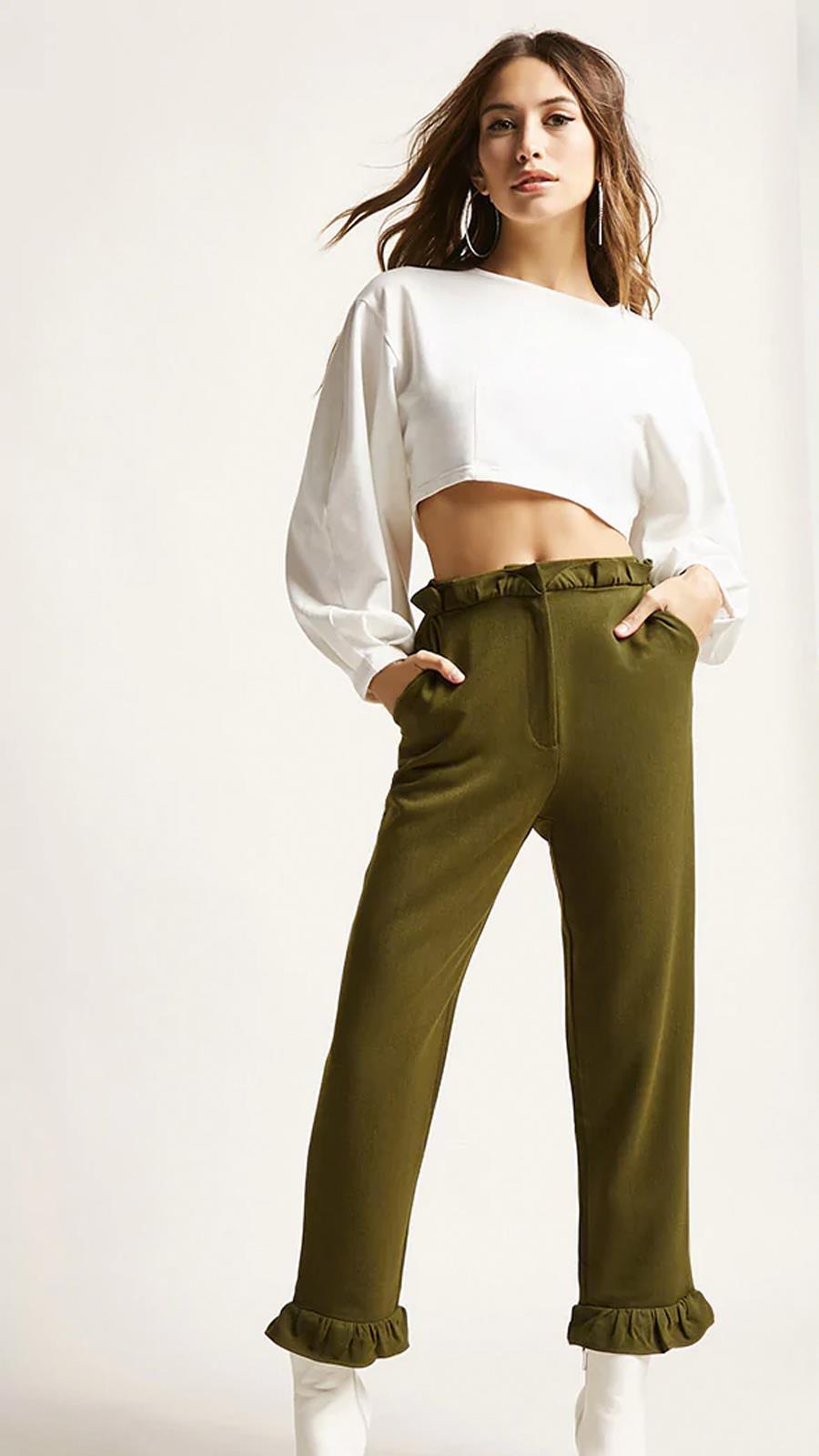 7a07602c64 Pantalones anchos para este invierno - InStyle