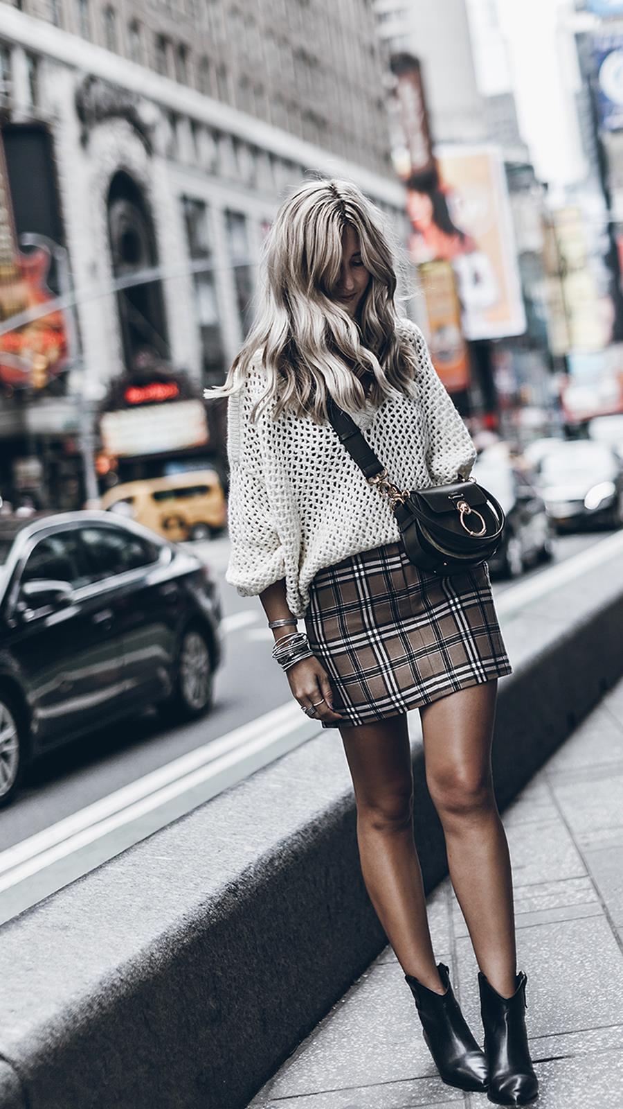 4f17d96f6b Minifaldas de otoño-invierno 2018-19  cómo llevarlas - InStyle