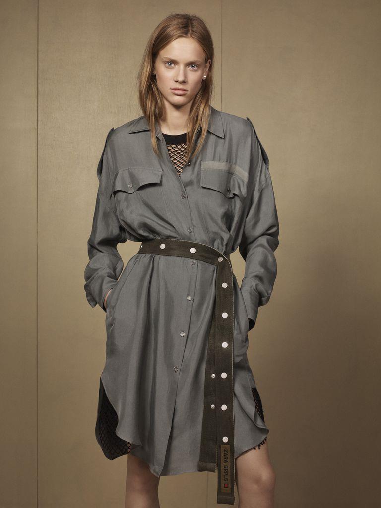 e58c3245c79 Zara presenta una colección exclusiva inspirada en el look militar ...