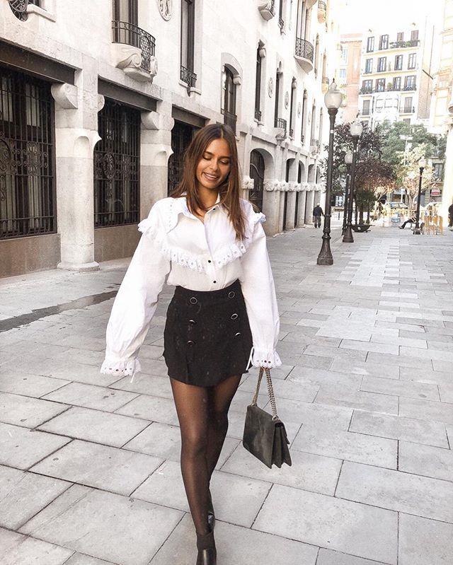 360201f370 Ideas para combinar la camisa blanca como las españolas que más ...