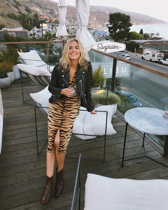 lucywilliams-animal-print. El look animal print de Lucy Williams