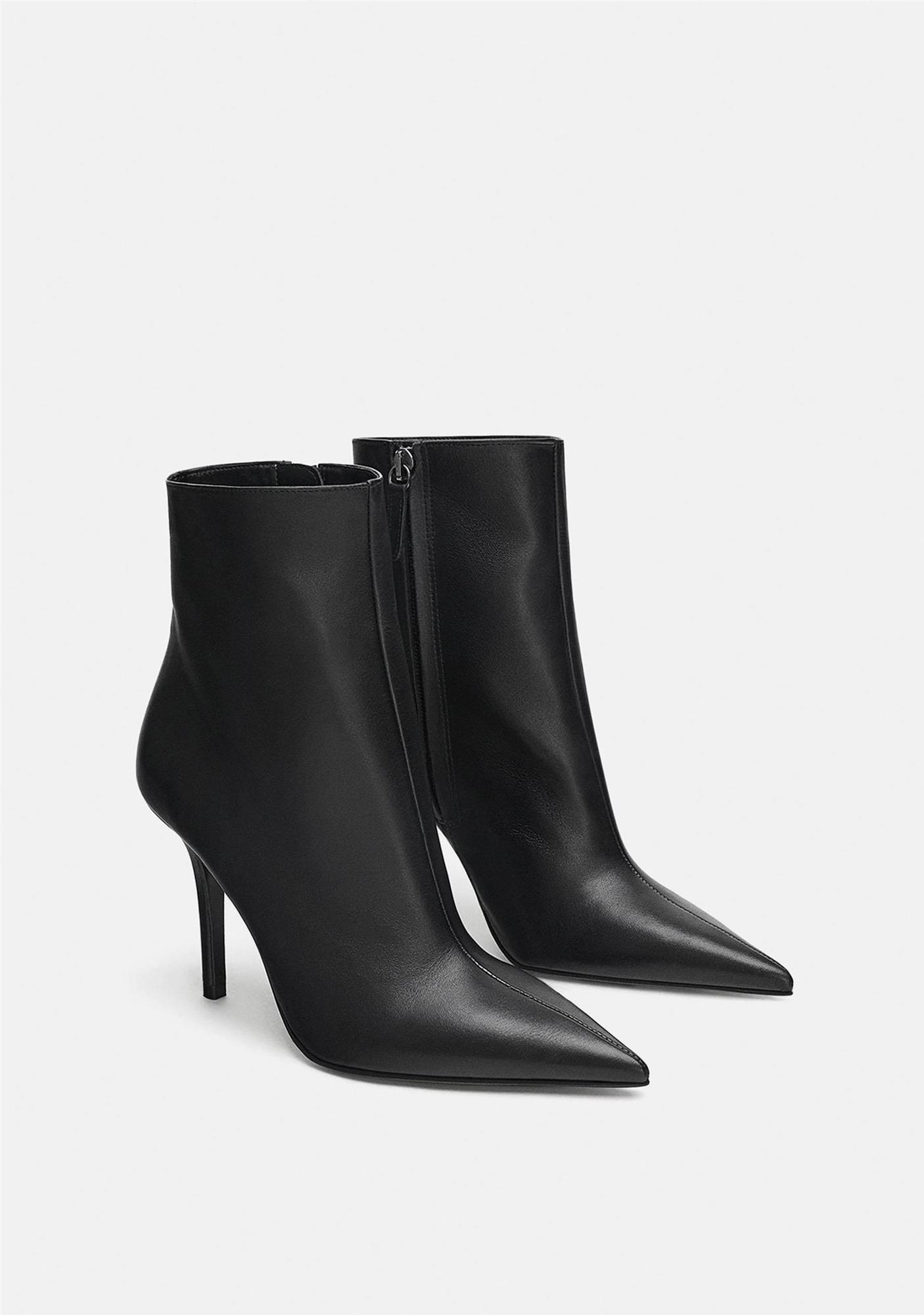 3c584a3e17ce4 Botines negros mujer para el invierno 2019  20 modelos que no pasan ...