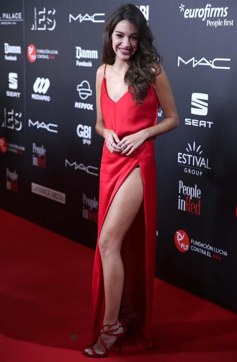 Ana Guerra en la gala People in Red