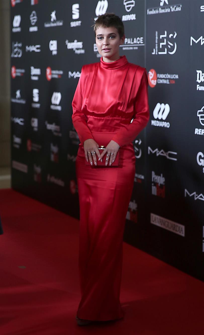 Laura Escanes en la gala People in Red