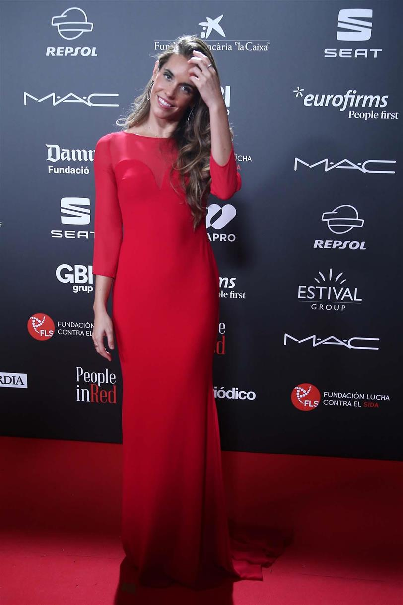 Ona Carbonell en la gala People in Red