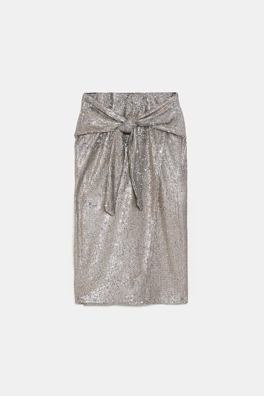 93f6b6e548952 Faldas de lentejuelas Zara  la prenda para TODOS tus looks de fiesta ...