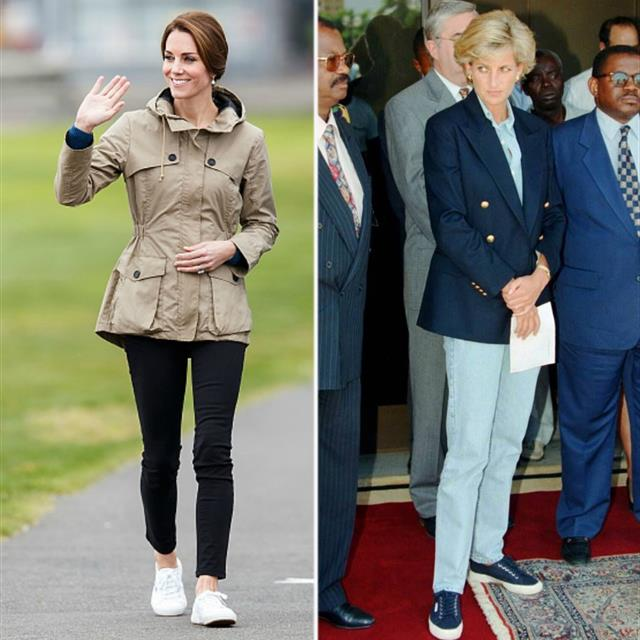 Las zapatillas Superga de Kate Middleton y Lady Di están rebajadas en Amazon