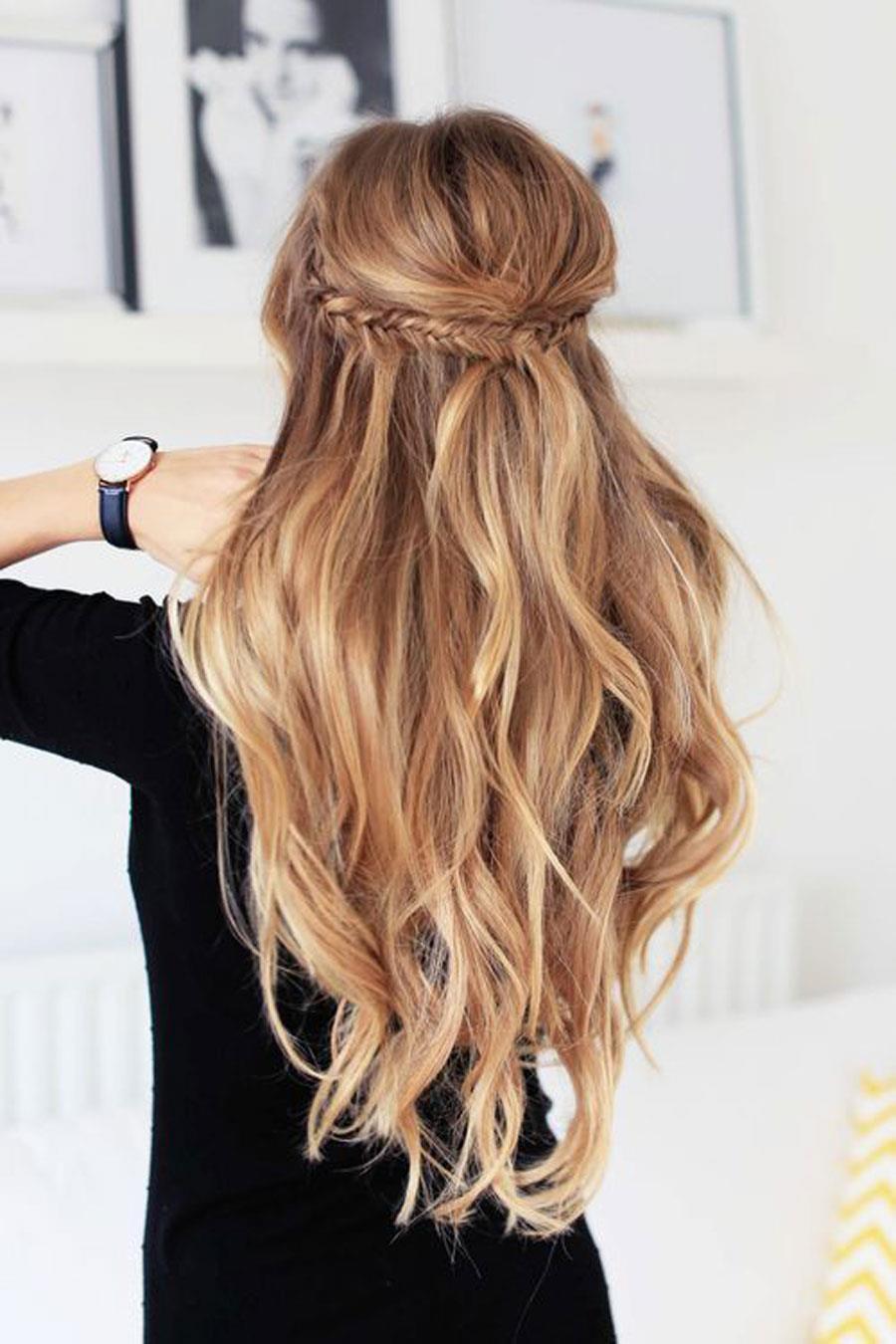 Peinados Faciles Y Rapidos 2019 40 Ideas Para Pelo Corto Y Largo