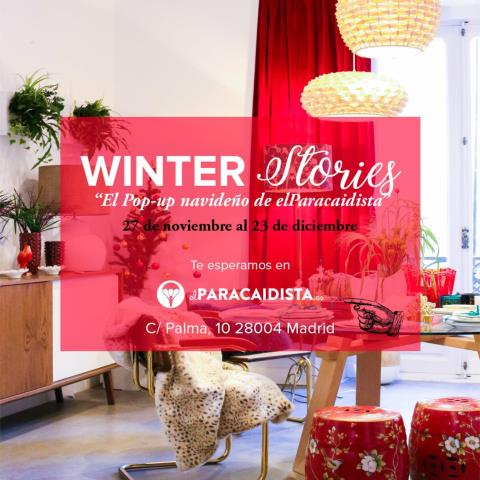 WINTER STORIES. POP-UP STORE: WINTER STORIES (MADRID)
