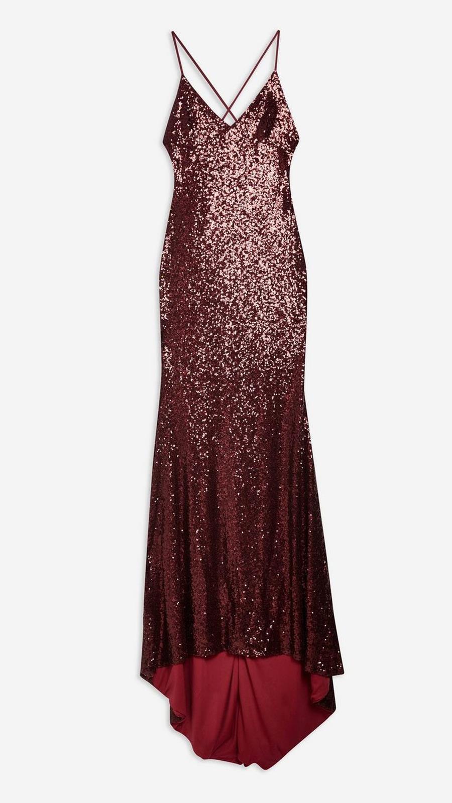 1a8889980 Vestido de lentejuelas de fiesta de Topshop Disponible en todas las tallas  (103 €)