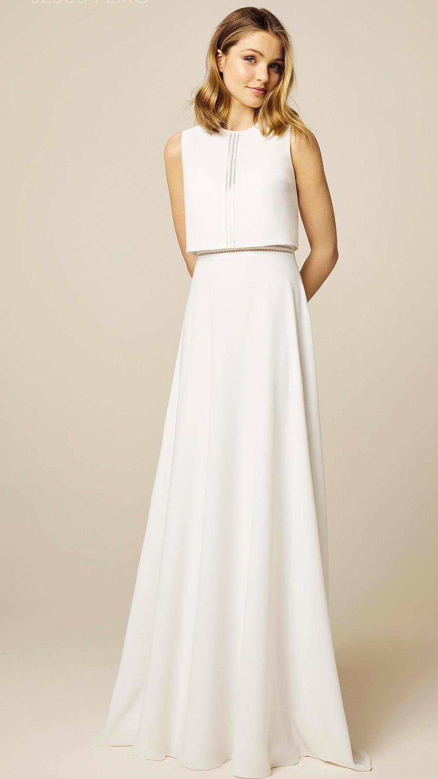 Imagen de vestido novia sencillo