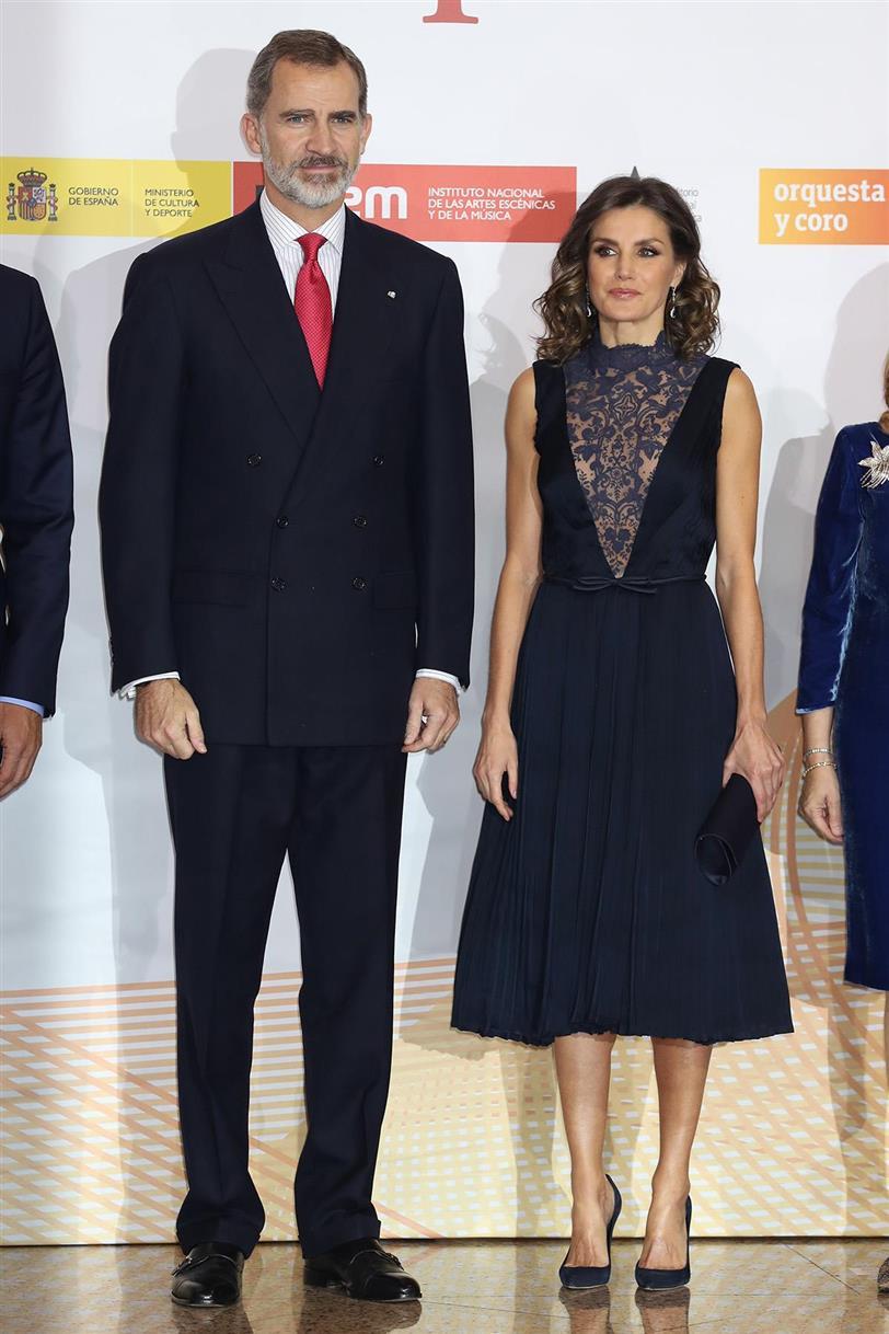 5a0583825 Los vestidos de gala de Letizia