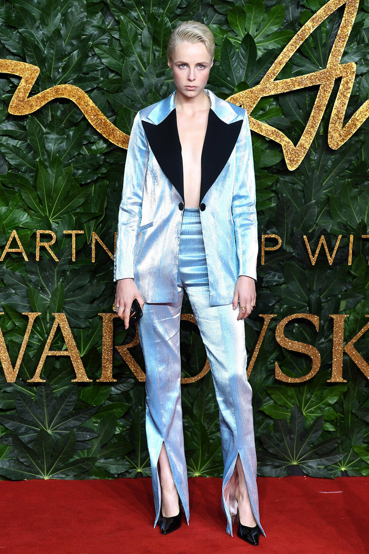 Edie-Campbell-Fashion-Awards. Edie Campbell