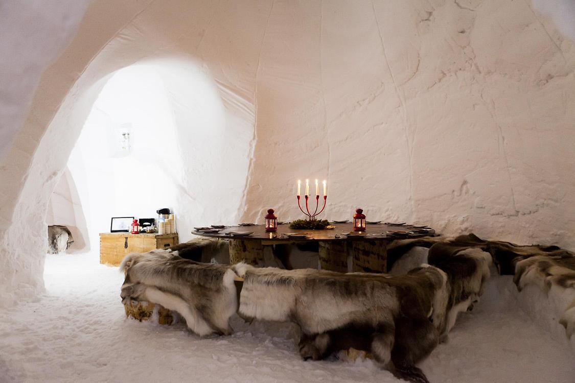 Blacksheep village Igloo La Plagne. Un iglú: Blacksheep Village Igloo La Plagne