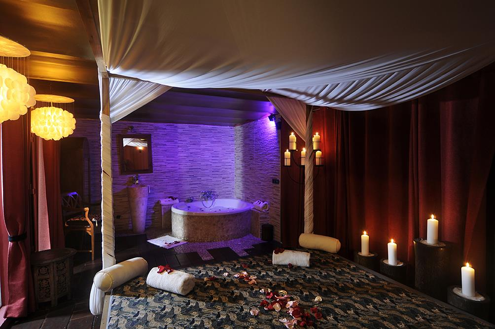 suite. Un spa: Bali Spirit Spa Lounge