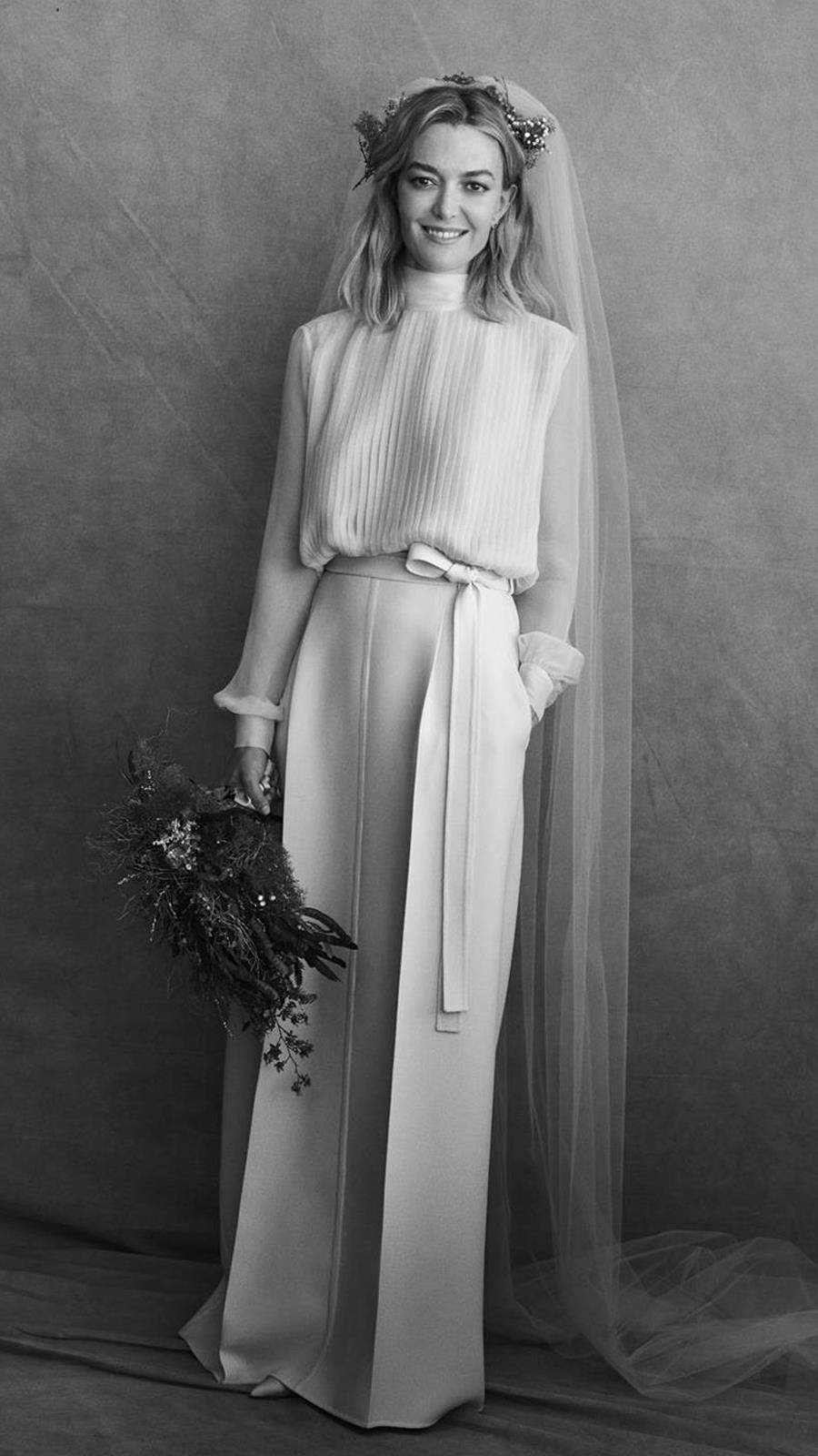ec416b4d0 Los mejores vestidos de novia 2018 de las famosas - InStyle