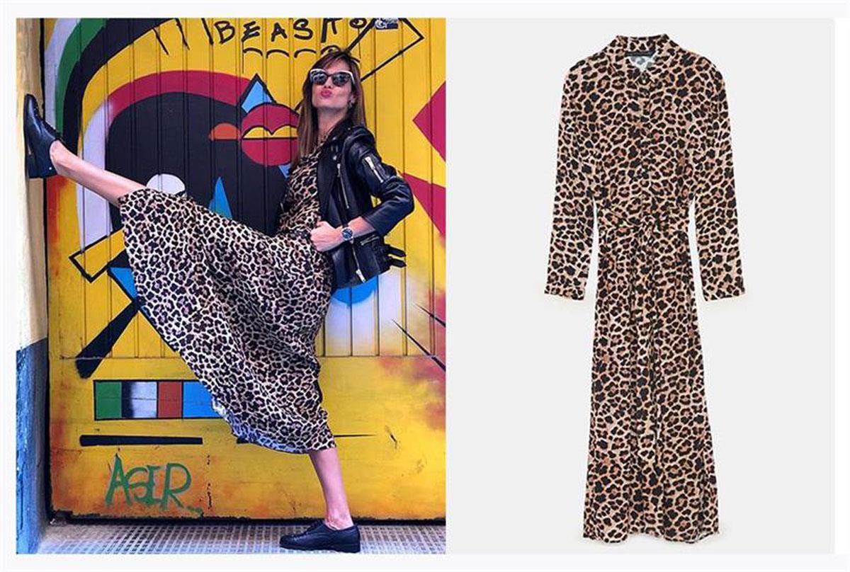ariadne-artiles-vestido-de-zara. Las prendas más vendidas de Zara e49083695fb3