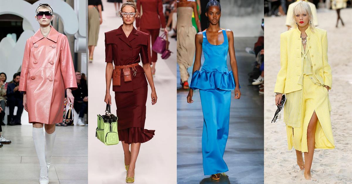 Colores de moda 2019: de la pasarela a tu armario