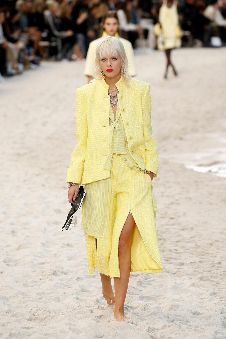 3292ec19511 colores-de-moda-amarillo-chanel. Colores de moda 2019  color