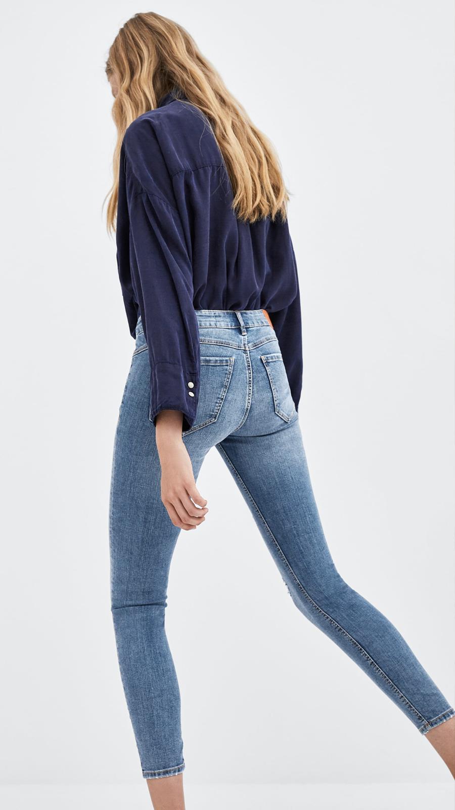 Su Rise Jeans Tecnología Low Potencian De Figura 19 A Zara Sculpt Gracias La FqTq4v