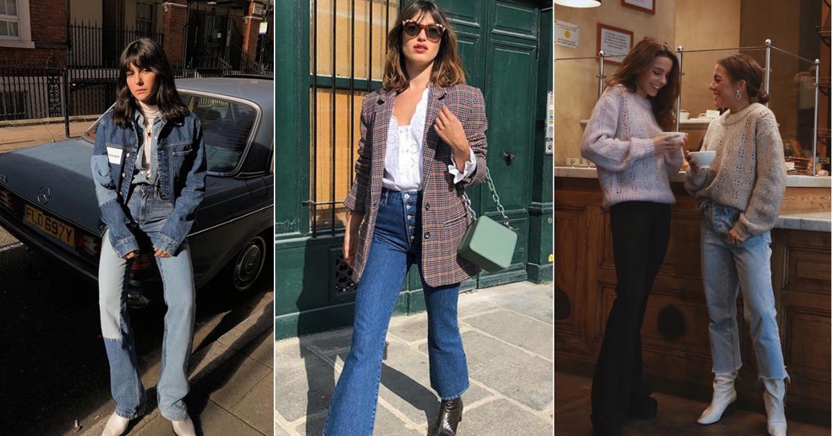 ae66c43a5 Pantalones vaqueros mujer 2019 que mejor sientan a cada tipo de ...