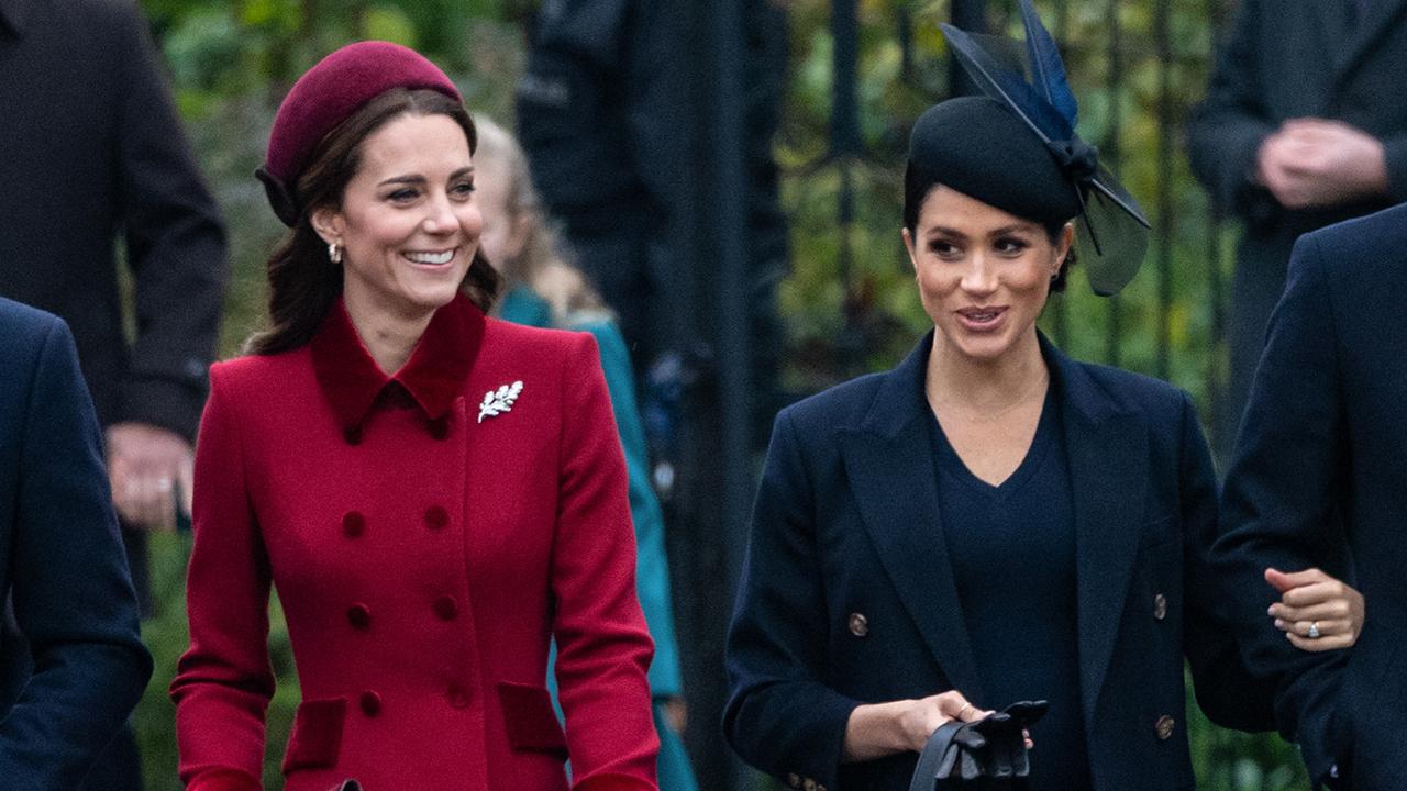 641b21577 Kate Middleton copia a Meghan Markle su abrigo más icónico - InStyle
