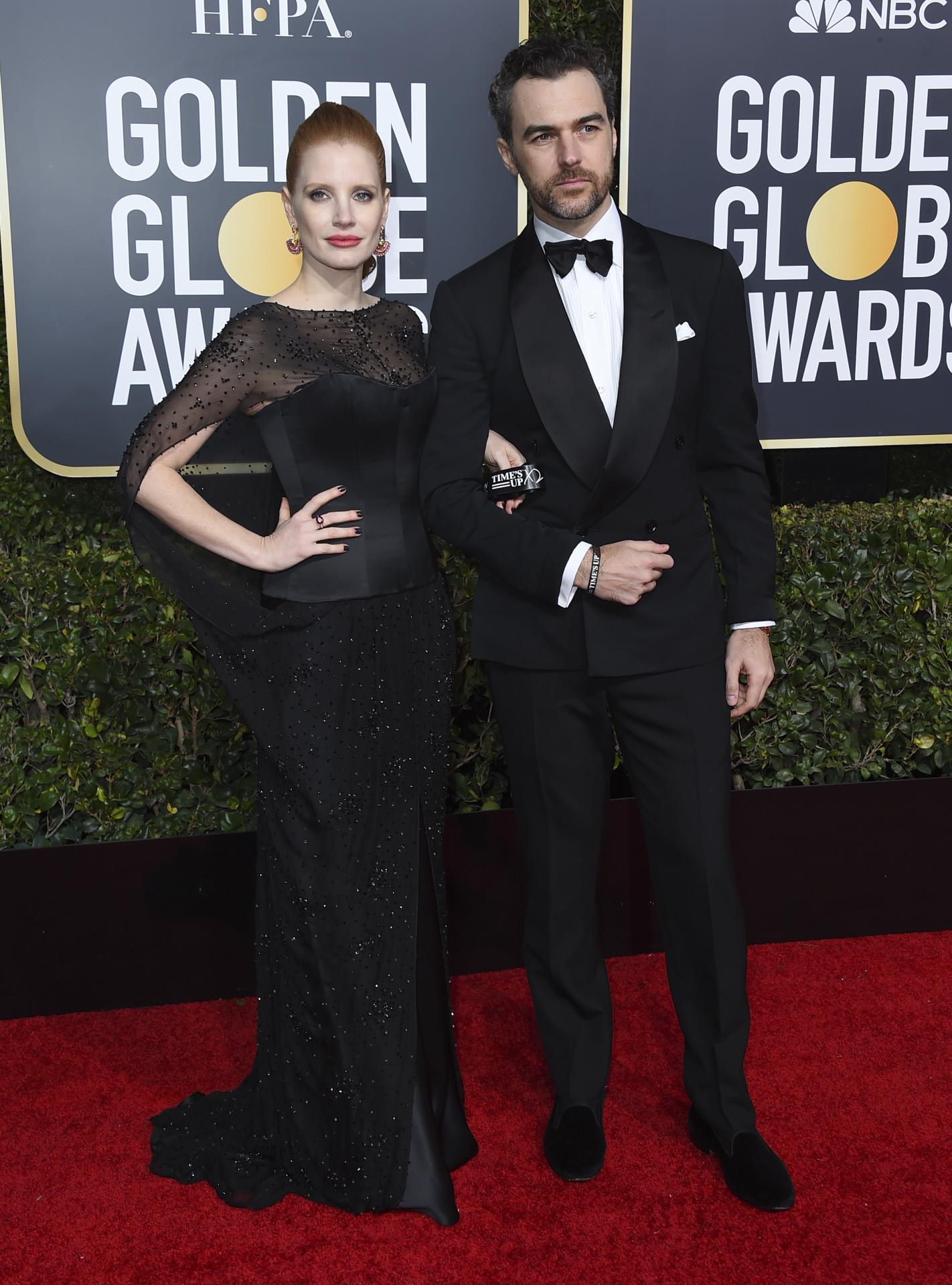 Jessica Chastain y Gian Luca Passi