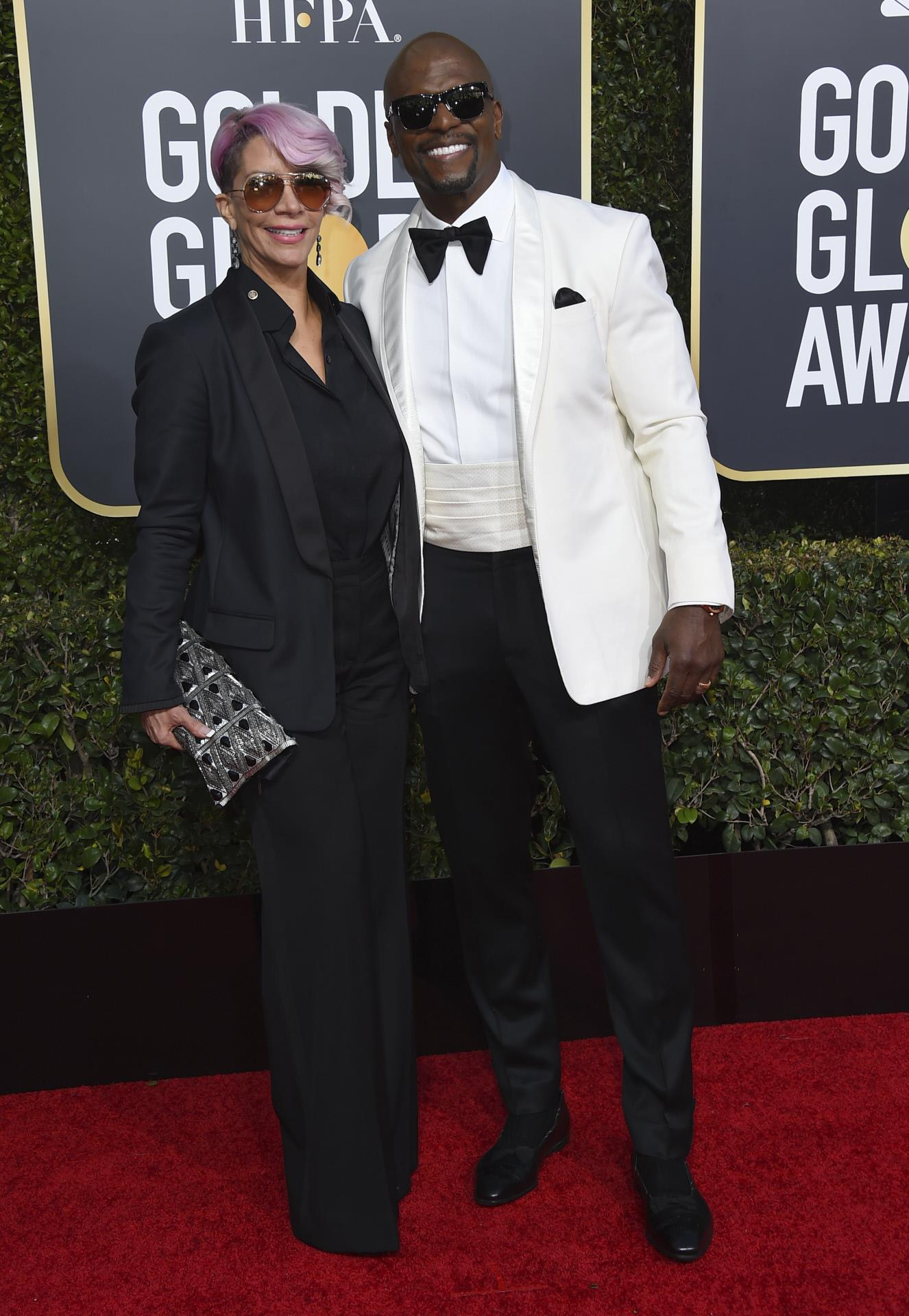 Rebecca King-Crews y Terry Crews