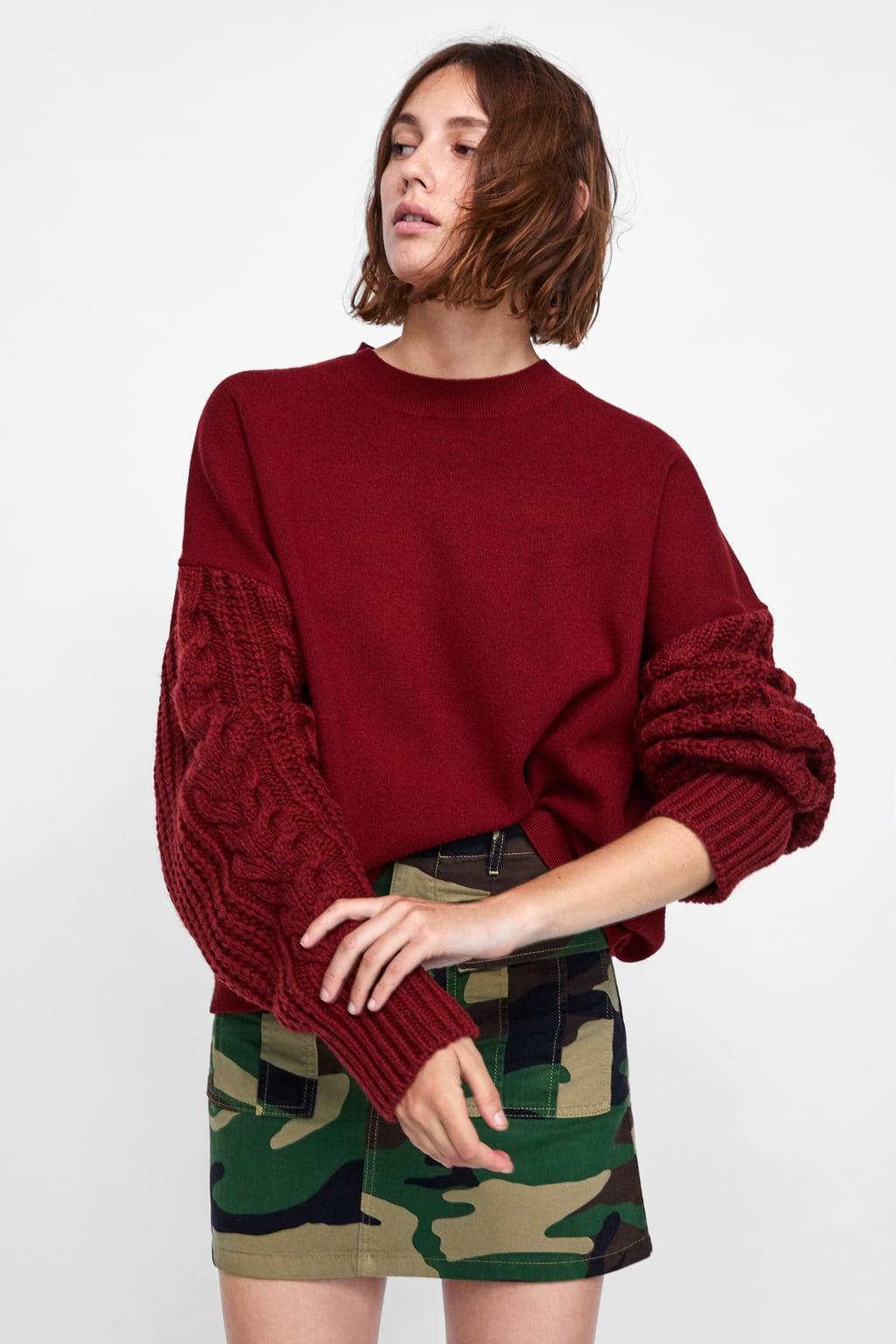 Un jersey de punto rojo 44c46096695d