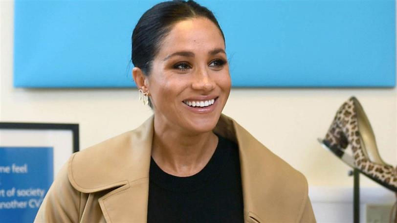 meghan markle look embarazada