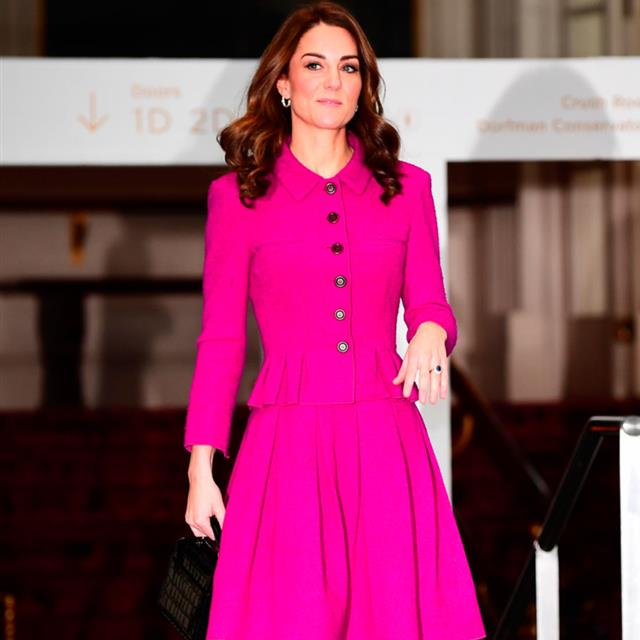 Kate Middleton responde a Meghan Markle con su look más colorista