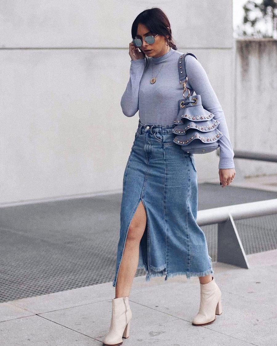 26c680eac Falda vaquera (de rebajas) H&M, Zara, Bershka... que sientan muy ...