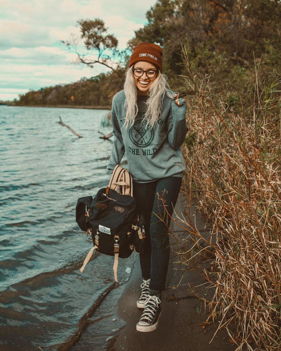estilo-de-vestir-hipster hailey miller. Estilo hipster si eres una chica 1e875c49ed1