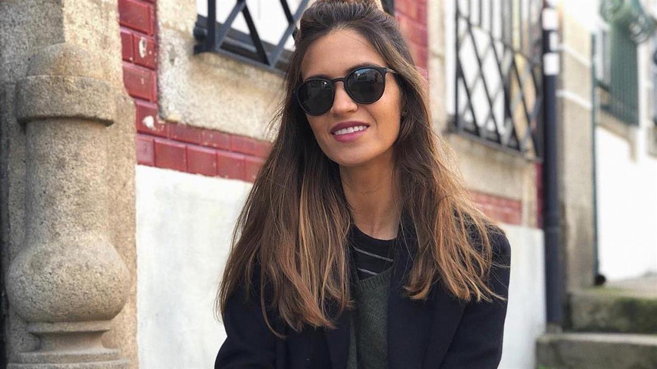 5c16e81c5d6a Sara Carbonero y su total look de Zara de nueva temporada - InStyle