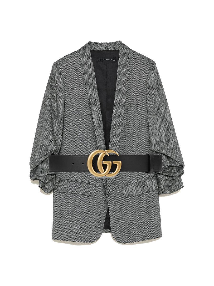 2c7afe176a2b Cómo combinar la ropa de mujer y parecer más delgada  Blazer + ...