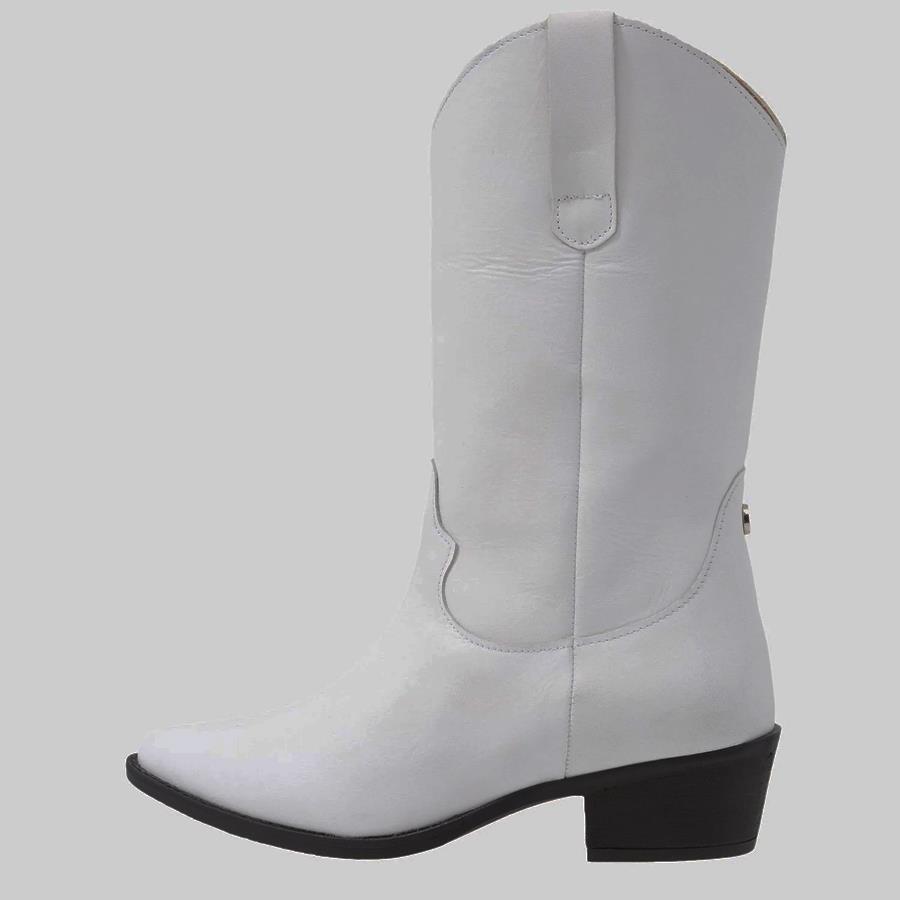 d74ffe82746 botas tipo cowboy blancas de Steve Madden disponibles en Zalando antes  199