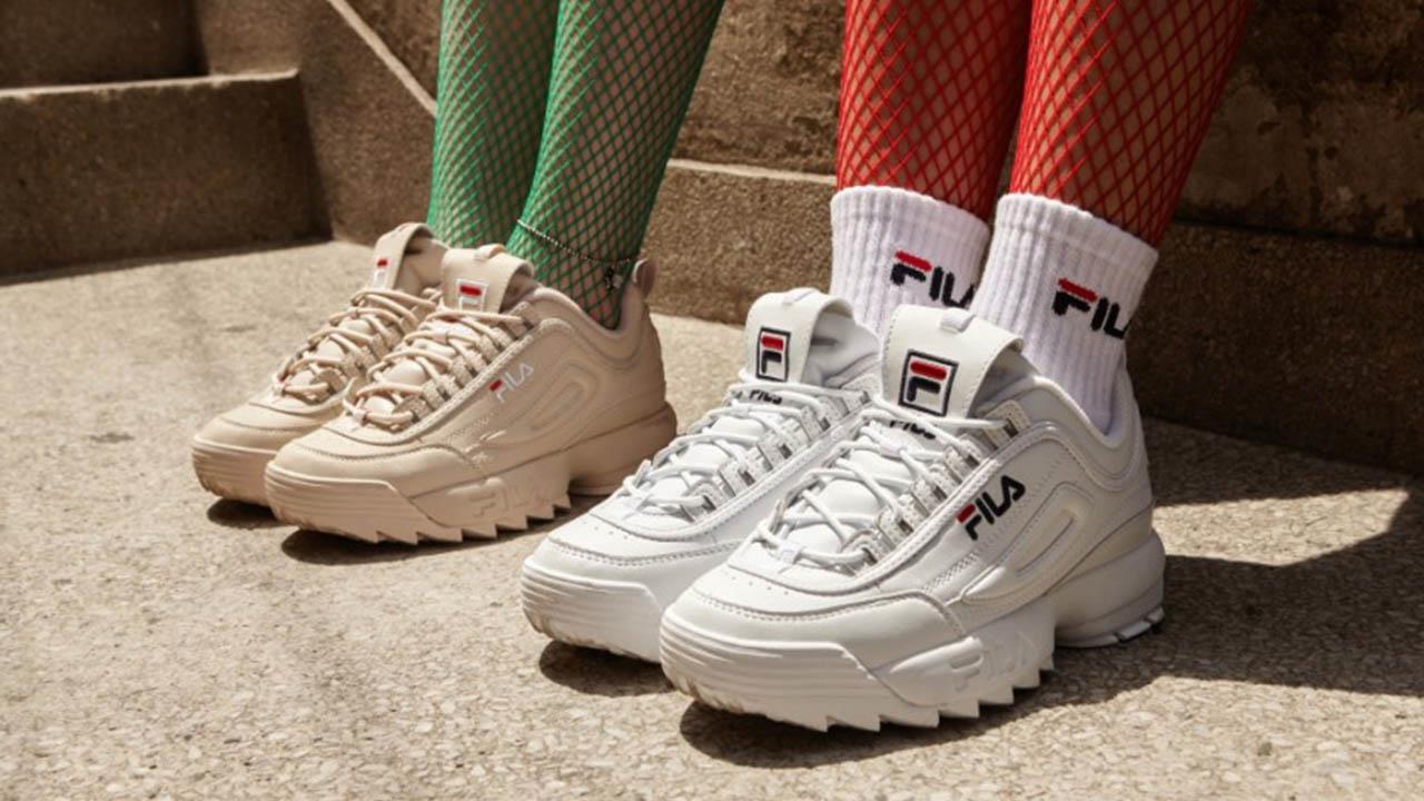 c972a12a426 Fila tiene las nuevas zapatillas de moda que arrasa en Instagram ...