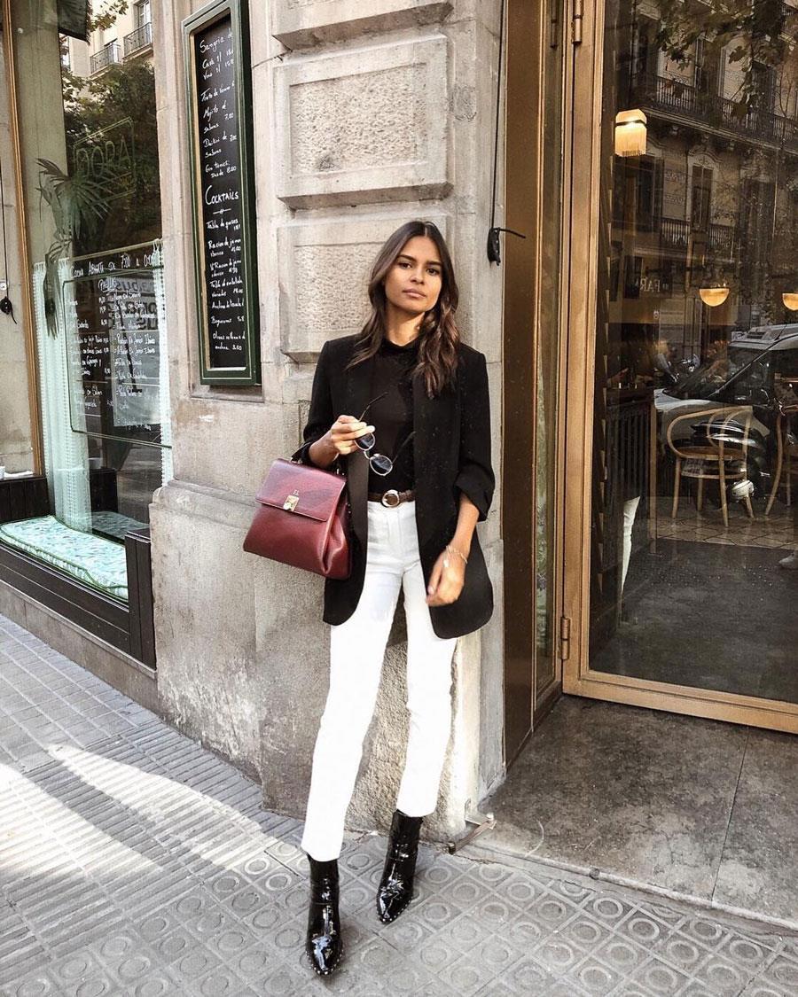 a29a68b0 Pantalón blanco: tendencia de moda Primavera-Verano 2019 - InStyle