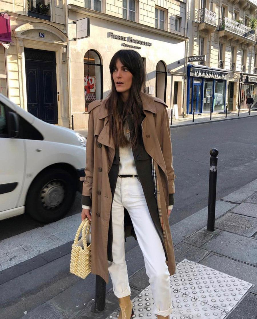 lo último 8bd46 87e48 Pantalón blanco: tendencia de moda Primavera-Verano 2019 ...