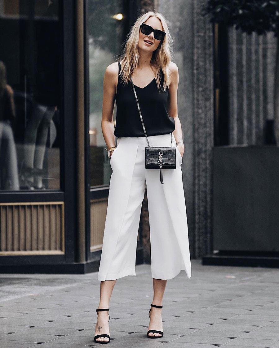 BlancoTendencia 2019 Primavera Moda Instyle Verano Pantalón De OkPXuZi