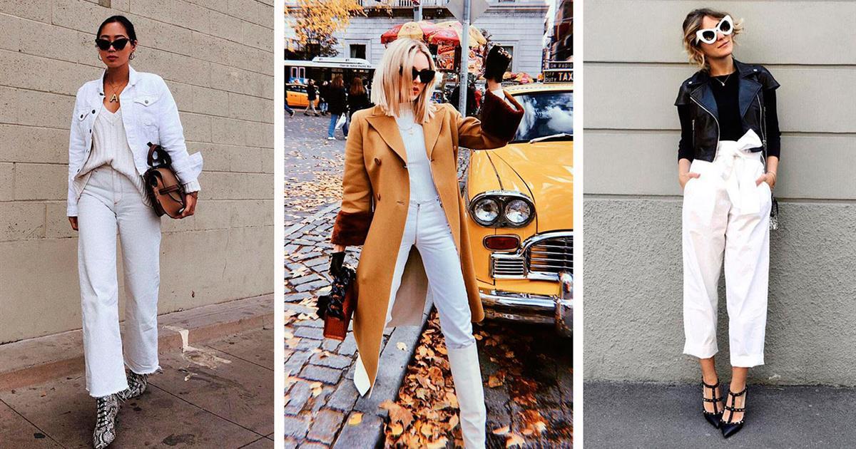 Pantalón Primavera Instyle 2019 BlancoTendencia Verano De Moda Y7ybf6g