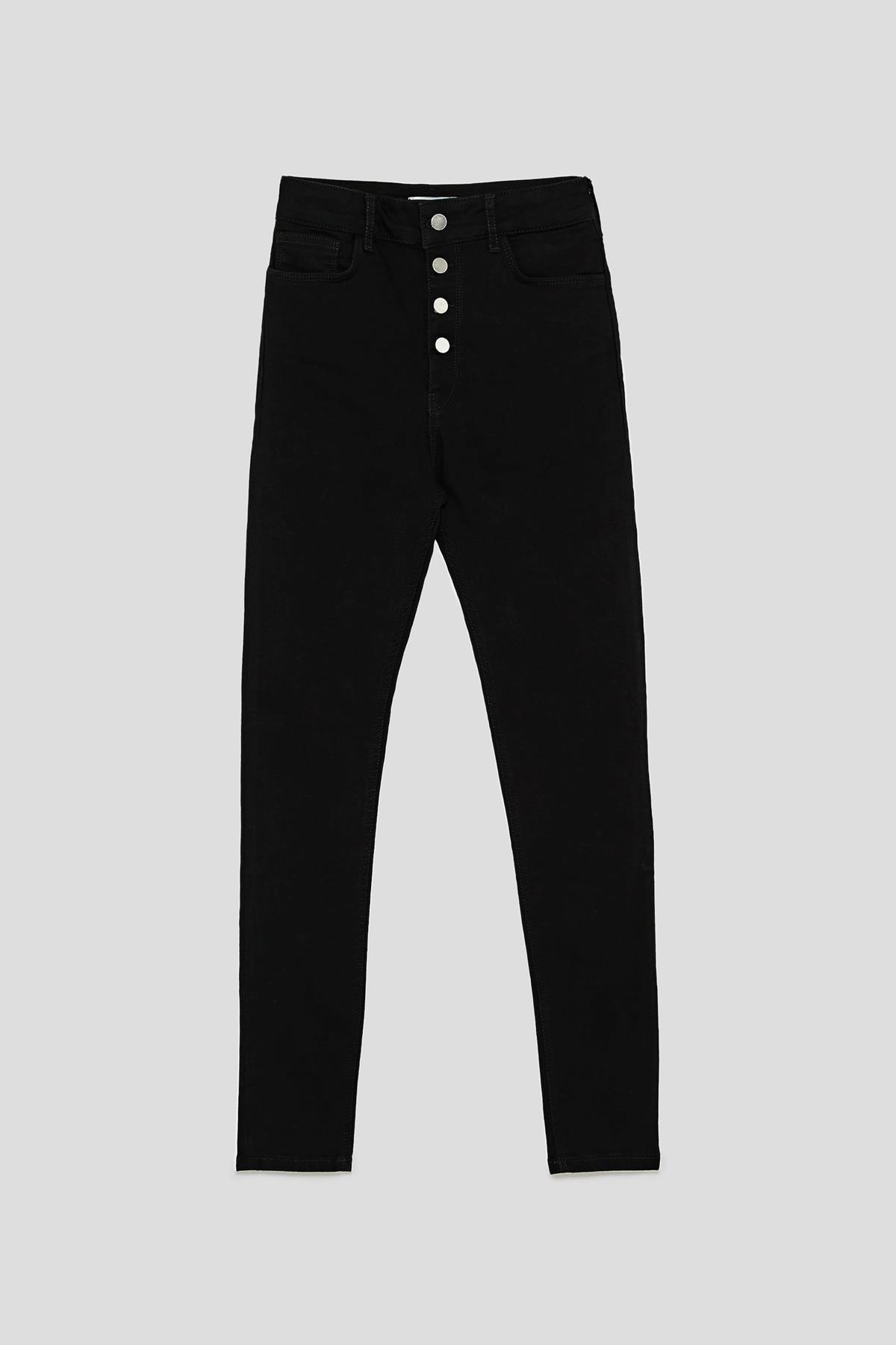 Pantalones Tiro Alto O Tiro Medio Los Vaqueros De Moda Primavera 2019