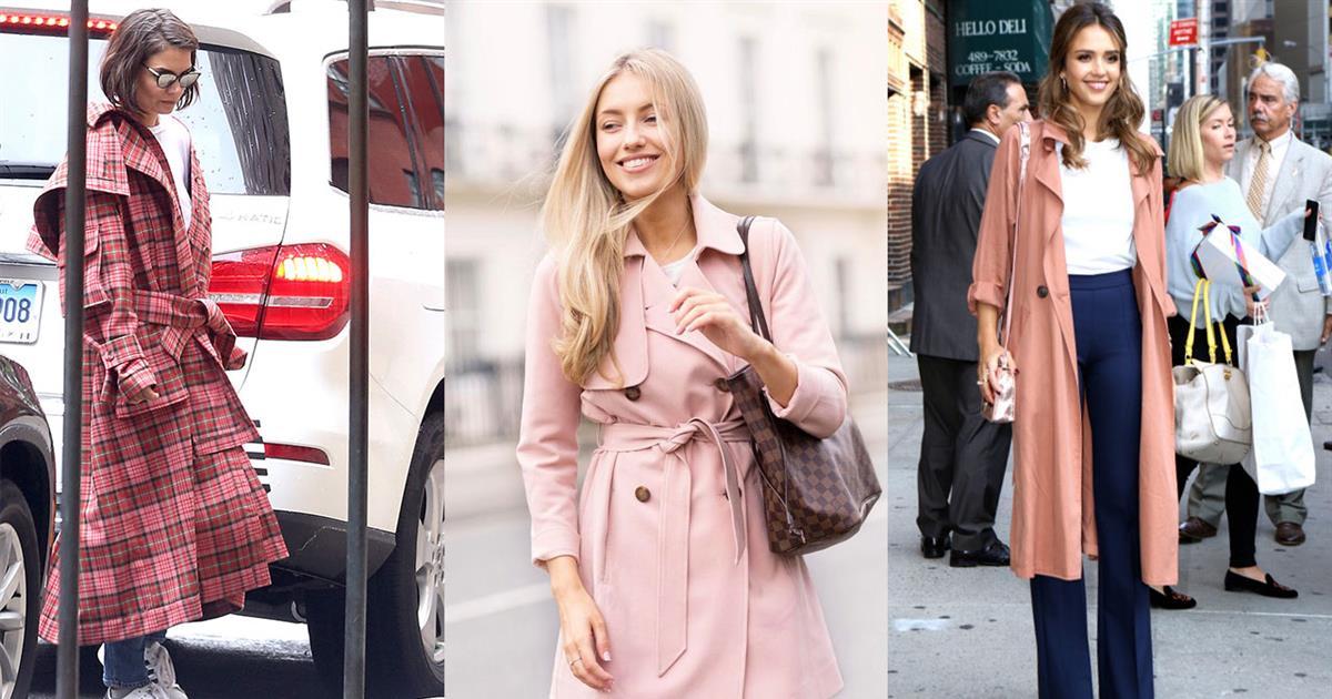 402b714c361 Abrigo rosa  tendencia de moda primavera 2019 - InStyle
