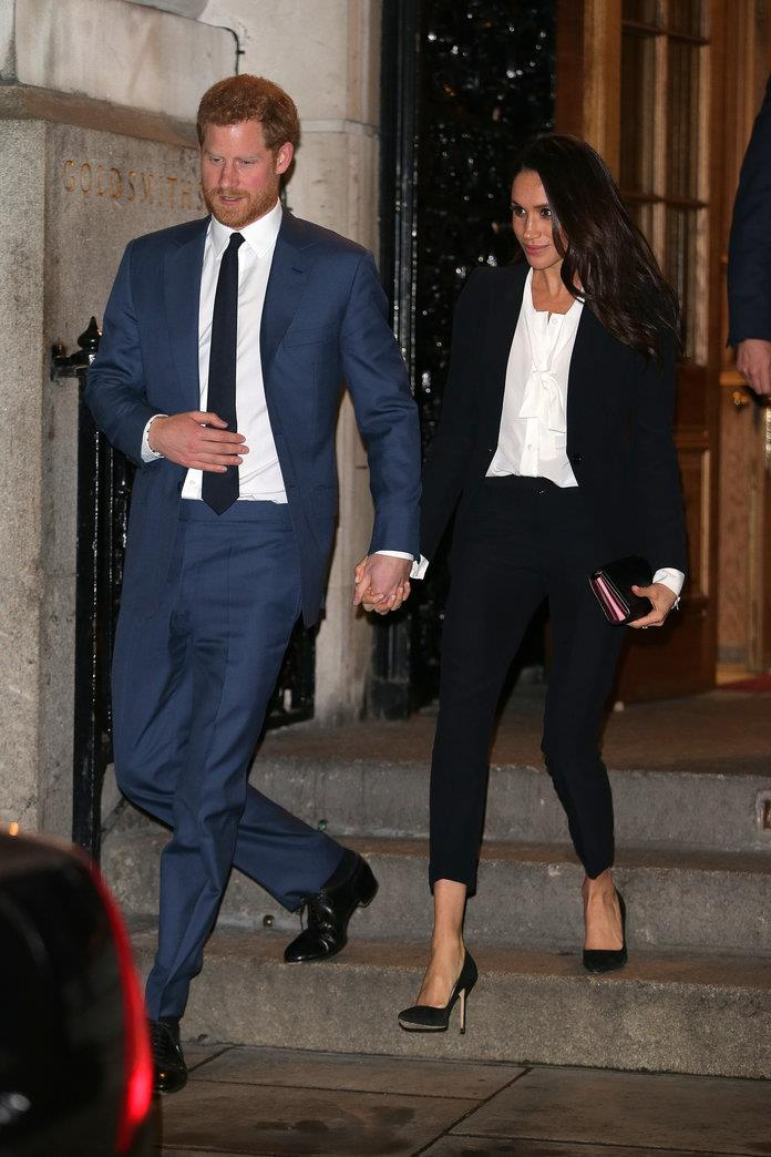 El look de Meghan Markle Endeavor Fund Awards en 2018