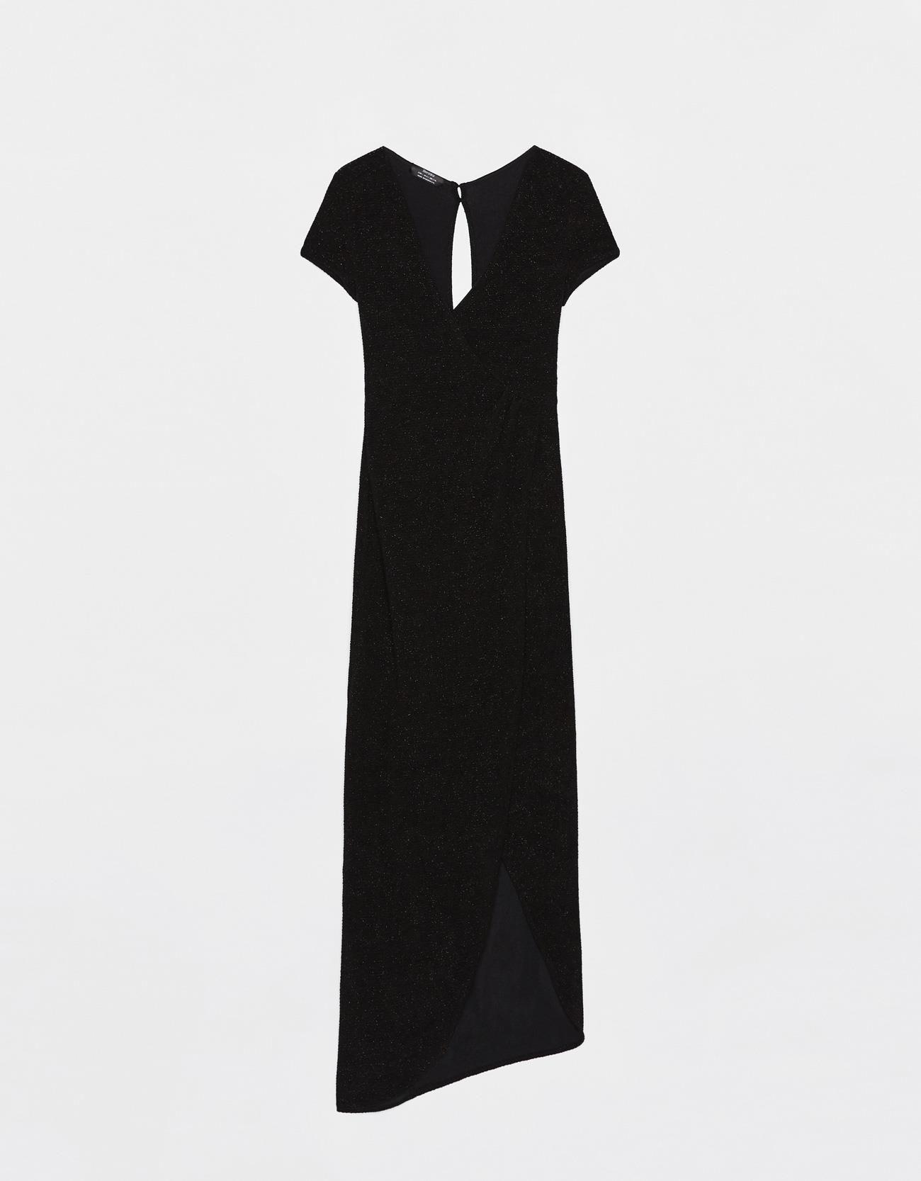3140363f16 vestido de invitada primavera verano 2019 negro. Vestido negro