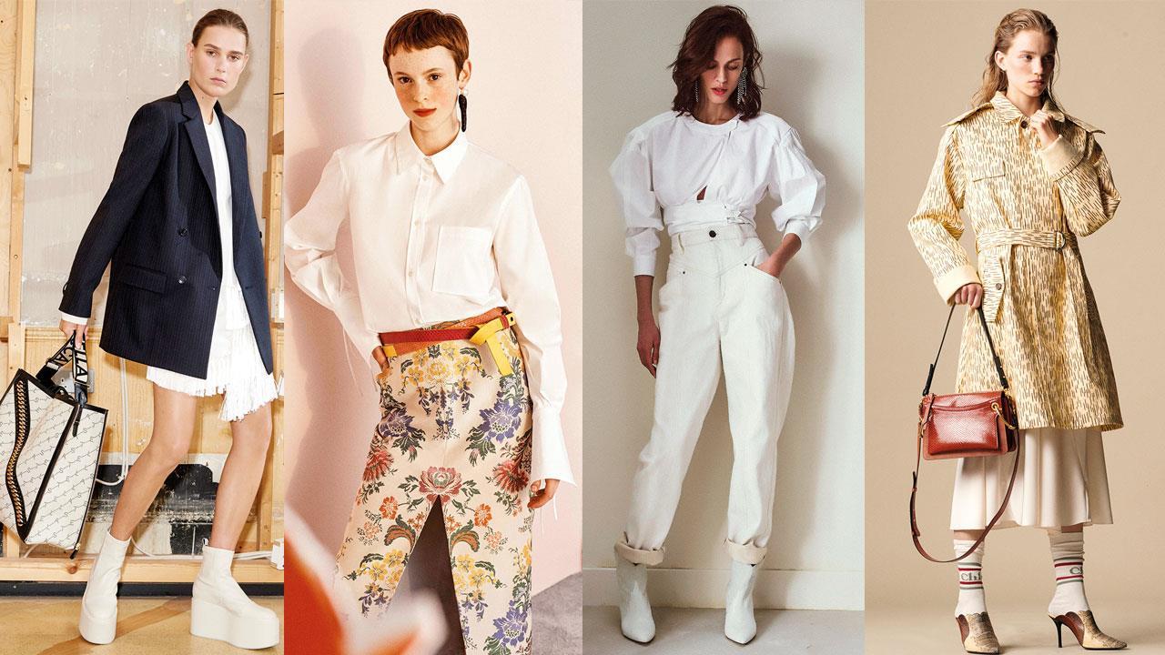 d3b01f0b92c5 La camisa blanca, el trench fluido, los pantalones de pinza y la americana:  estas son las cuatro prendas de fondo de armario imprescindibles año tras  año.