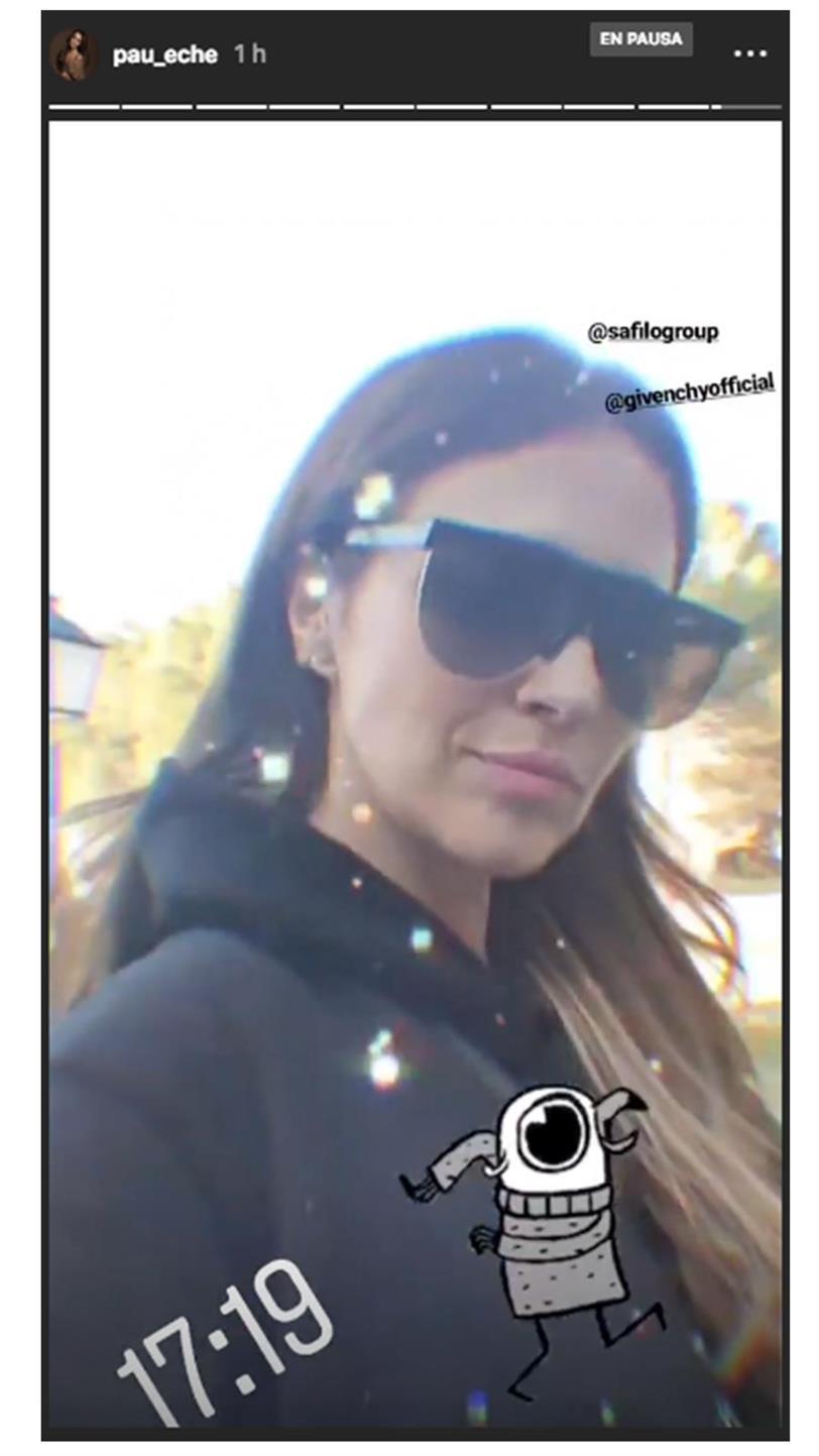 5fb66c648a Paula Echevarría se rinde a las gafas XL (y sabemos de dónde son sus ...