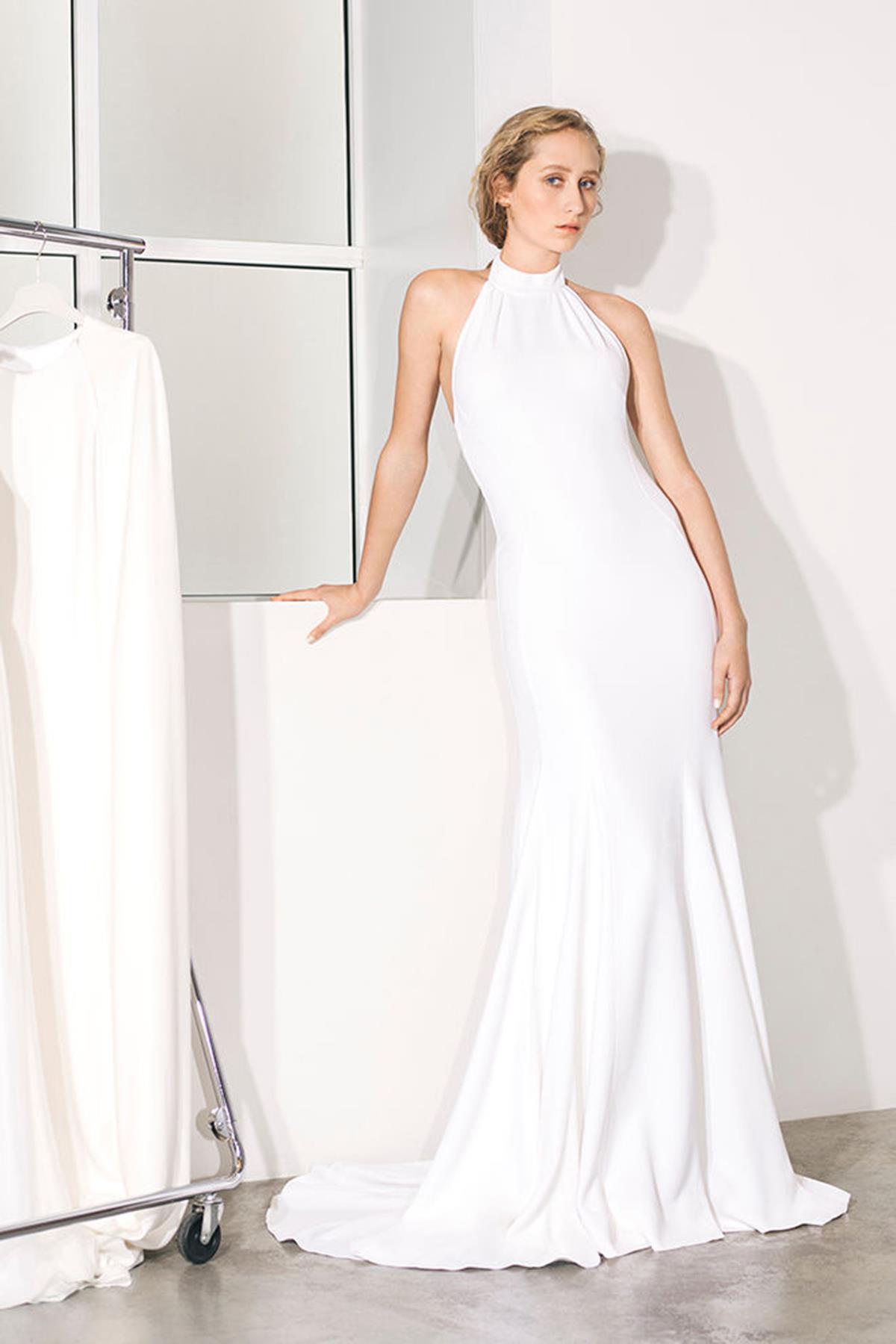 659229dce Vestidos de novia con escote halter como el de Meghan Markle - InStyle