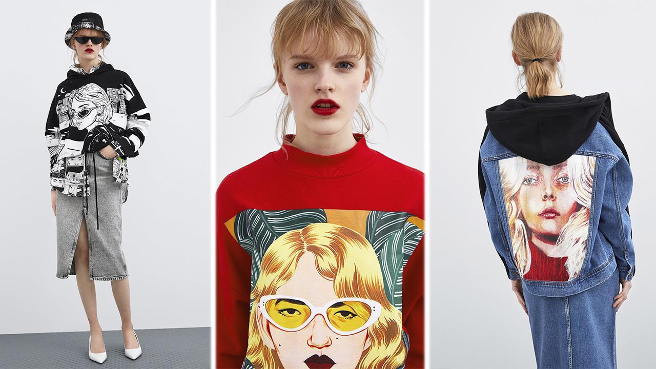 42075da3c Zara lanza una colección de ropa y accesorios diseñada por tres ...