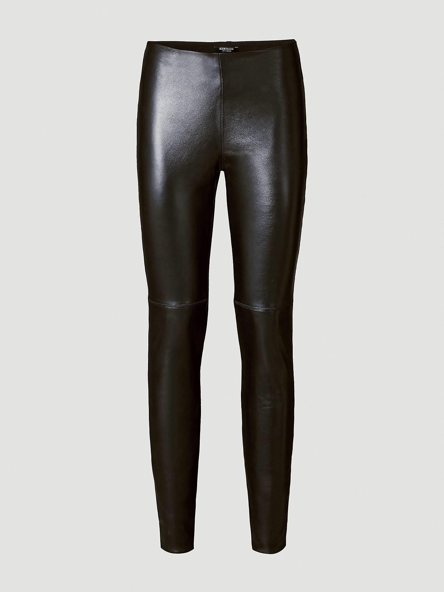 Pantalon Cuero Mujer Moda Primavera 2019